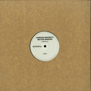 Front View : Fabrizio Maurizi & Matteo Manzini - COAXIAL EP - Memoria Recordings / MEM051