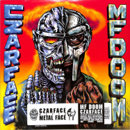 Front View : Czarface & MF Doom - CZARFACE MEETS METAL FACE (LP) - Silver Age / SIL003LP