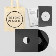 Front View : Alex Ketzer - BEYOND PLASTIC BUNDLE (BOOK / 12INCH / BAG) - Beyond Plastic / BPLBUNDLE001
