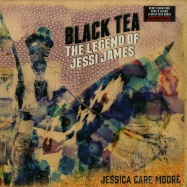 Front View : Jessica Care Moore - BLACK TEA: THE LEGEND OF JESSI JAMES (2X12 LP) - Javotti Media / jav004