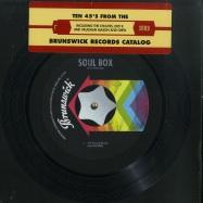Front View : Various - BRUNSWICK SOUL BOX (10X7 INCH) - Brunswick / BRW100