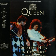 Front View : Queen - GREATEST HITS IN CONCERT (LTD WHITE LP) - Coda / CPLVNY336