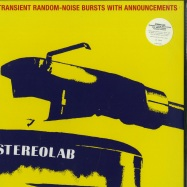 Front View : Stereolab - TRANSIENT RANDOM NOISE (LTD CLEAR 3LP + MP3 + POSTER) - Warp Records / DUHFD02RC