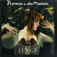 Front View : Florence + The Machine - LUNGS (LTD 10TH ANNIVERSARY RED LP) - Island / 7760367