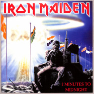 Front View : Iron Maiden - 2 MINUTES TO MIDNIGHT (7 INCH) - Parlophone / 82564624868