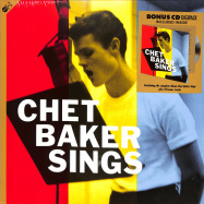Front View : Chet Baker - SINGS (180G LP + CD) - Groove Replica / 01277021