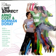 Front View : Various Artists mixed By Arno Cost & Norman Doray - CR2 PRES. LIVE & DIRECT (3XCD) - Cr2 / CDC2LD01