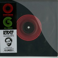 Front View : Damu The Fudgemunk - OVERTHRONE / ALL GREEN (7 INCH) - Redefinition Records / rdf0157