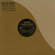 Front View : Ikebe Shakedown - TUJUNGA REMIXES (CLEAR GREEN VINYL) - Ubiquity / UR12324