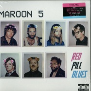 Front View : Maroon 5 - RED PILL BLUES (LTD RED & BLUE 2LP) - Interscope / 7701935