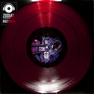 Front View : Various Artists - ESCAPE FROM ANDROMEDA (CLEAR RED VINYL) - Zodiak Commune Records / ZC-ELEC001