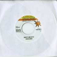 Front View : Junior Murvin - MAKE IT AND SET IT (7 INCH) - Deeper Knowledge / dkr032