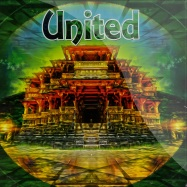 Front View : Various Artists - UNITED LP (COLOURED VINYL) - Global Aura Records / GLOBAL001