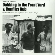 Front View : Bunny Lee Presents - DUBBING IN THE FRONT YARD & CONFLICT DUB (2LP) - Pressure Sounds / PSLP 102 / 8996322
