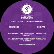 Front View : Necrotype & Tim Reaper - EXCLUSIVE TO BANDCAMP - 7th Storey Projects / 7TH12028