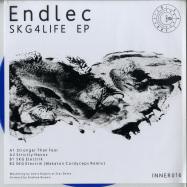Front View : Endlec - SKG4LIFE EP (BLUE VINYL) - Inner Surface Music / INNER016