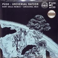 Front View : Push - UNIVERSAL NATION (BART SKILS REMIX)(SPECIAL GOLD EDITION) - BONZAI VINYL / BV2019011G