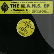 Front View : Johannes Albert - THE H.A.N.S. EP VOL. 2 - Frank Music / FM12015