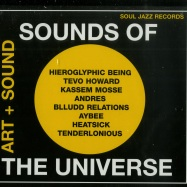 Front View : Various Artists - SOUNDS OF THE UNIVERSE: ART + SOUND (2XCD) - Soul Jazz Records  / sjrcd307