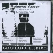 Front View : Roberto Auser / Unhuman - UNHUMAN / ROBERTO AUSER - Gooiland Elektro / GOOILAND039