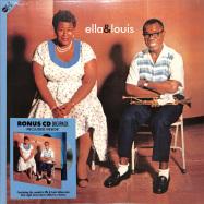 Front View : Ella Fitzgerald & Louis Armstrong - ELLA & LOUIS (+BONUS CD) - Groove Replica / 77014 / 9656001