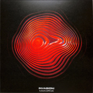 Front View : Makornik - INVASION! EP (RED MARBLED VINYL) - Wrongnotes / WNVS002