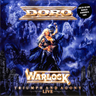 Front View : Doro - WARLOCK - TRIUMPH AND AGONY LIVE (LP/BLACK&WHITE) - Rare Diamonds Productions / RDP0024-V