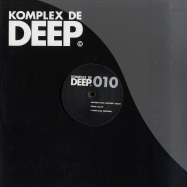 Front View : Master-H ft. Geoffrey Secco - STABS CALL EP (CHRISTIAN PROMMER REMIX) - Komplex De Deep / KDD010