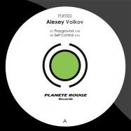 Front View : Alexey Volkov - PLAYGROUND - Planete Rouge / PLR1103