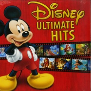 Front View : Various Artists - DISNEY ULTIMATE HITS (LP) - Walt Disney Records / 8739867