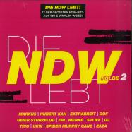 Front View : Various - DIE NDW LEBT - FOLGE 2 (WHITE 180G LP) - DA Music / 877353-2
