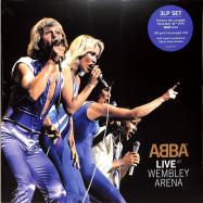 Front View : Abba - LIVE AT WEMBLEY ARENA (LTD 180G 3LP) - Universal / 0837901