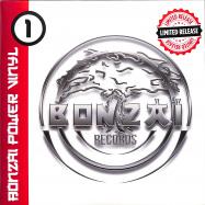 Front View : Bonzai Records VV - BONZAI POWER VINYL 1 (2X7 INCH BLACK VINYL) - Bonzai Classics / BCV2020010Black