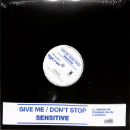 Front View : Sensitive - GIVE ME-DONT STOP - Zyx Music / MAXI 1047-12