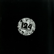 Front View : Various Artists - DOUBLE FIGURES EP - 124 Recordings / 124R 010