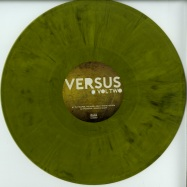 Front View : Tim Reaper, Paragon, Artilect, Soul Intent - VERSUS VOLUME (YELLOW & BLACK MARBLED VINYL) - Lossless Music / LOSS007