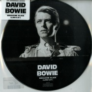 Front View : Dawid Bowie - BREAKING GLASS EP (LTD 7 INCH PICTURE DISC) - Parlophone / 8756072