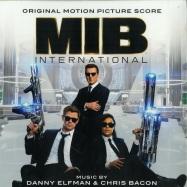 Front View : Danny Elfman & Chris Bacon - MEN IN BLACK: INTERNATIONAL O.S.T. (LP) - Sony / 19075944451