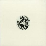 Front View : iO (Mulen) - FLUTE / CREEPS (WHITE VINYL / VINYL ONLY) - Eating Records / EAT002C