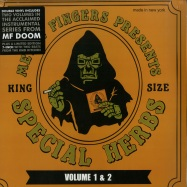 Front View : MF Doom - SPECIAL HERBS VOL.1 & 2 (2LP + 7 INCH) - Nature Sounds / NSD100-1