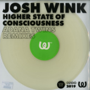 Front View : Josh Wink - HIGHER STATE OF CONSCIOUSNESS (ADANA TWINS REMIXES) (COLOURED, VINYL ONLY) - Watergate Records / WGVINYL63