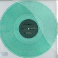 Front View : Riccardo Rizza - BILLANT (NIKOLA GALA REMIX) (TRANSPARENT GREEN COLORED VINYL) - Diebaudio / da025