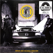 Front View : Pete Rock & CL Smooth - MECCA & THE SOUL BROTHER (CLEAR 2X12 LP) - Get On Down / get52721lp