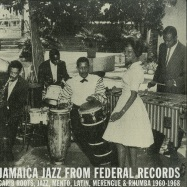Front View : Various Artists - JAMAICA JAZZ FROM FEDERAL RECORDS (2LP) - Dub Store Records / DSRLP023