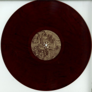 Front View : Foreign Material - THE QUEST (RED & BLACK VINYL) - Norite / NORLTD003