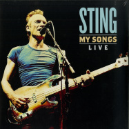 Front View : Sting - MY SONGS LIVE (2LP) - A & M Records / 0833556
