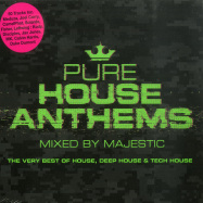 Front View : Various Artist - PURE HOUSE ANTHEMS MIXED BY MAJESTIC (3XCD) - New State Music / NEW9368CD