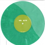 Front View : Agaric / Eidolon - WE ARE VOLUME 5 (10INCH) - WRR005