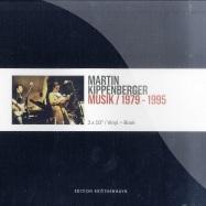 Front View : Martin Kippenberger - MUSIK 1979-1995 (3X10 BOX- BOOK/LIM.ED) - ek004vinyl