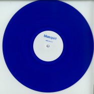 Front View : Bluespirit aka Steve O Sullivan - CLASSIC CUTS VOL 1 (HAND-STAMPED 180 GRAM BLUE VINYL) - Bluespirit / Spirit 2016